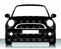 front view of a car clipart clipartxtras