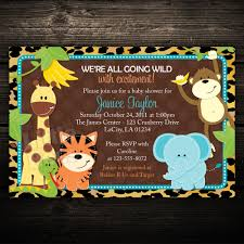 best 10 safari themed baby shower invites you must see