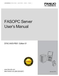 fasopc server user s manual