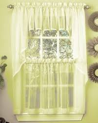 Seville Curtains Seville Curtains Style 263 Embroidered Organza Macrame By