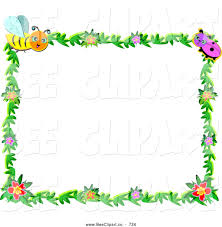 frame clipart insect pencil and in color frame clipart insect