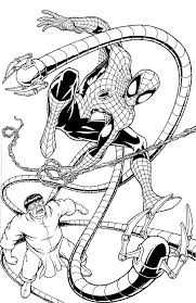 marvellous inspiration ideas doctor octopus coloring pages 4