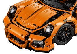 porsche 911 gt3 front lego technic porsche 911 gt3 rs set 42056