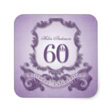 60 birthday celebration 60th birthday stickers zazzle