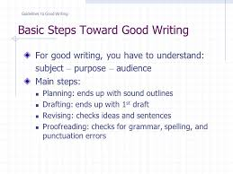 Sentence For Opulent Ee 399 Lecture 2 A Guidelines To Good Writing Contents Basic