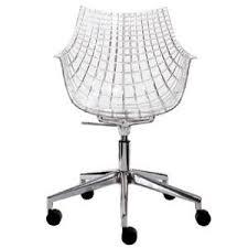 chaise de bureau transparente fauteuil bureau transparent comparer 72 offres