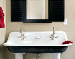 native trails trough sink trough sink bathroom janski home modern with regard to 10