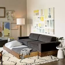 emery sofa twin daybed w trundle west elm