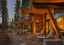 Contemporary Cabin Portfolio Raftery Homes