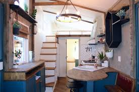 Pacific Northwest Design Urban Craftsman Is An Eclectic Tiny House On Wheels From Crafted