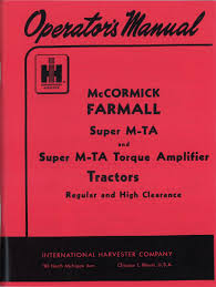 operators manual case ih parts case ih tractor parts