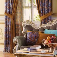 velvet curtains victorian style fabric