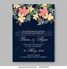 Wedding Invitations With Pictures Wedding Invitations Anemone Flowers Anemone Bridal Stock Vector