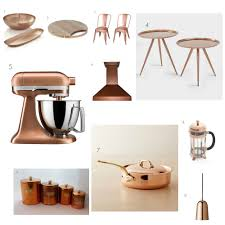 Copper Accessories For Kitchen Top 10 Accessories To Capitalize On The Copper Craze Freshome Com