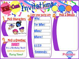 invitations maker birthday invitations maker birthday invitations maker using an