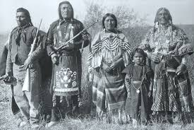native american indians in grand teton national park brushbuck