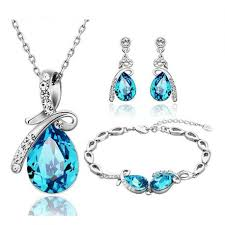 crystal rhinestone necklace images Free shipping top quality fine jewelry sale 50 80 2017 new jpg