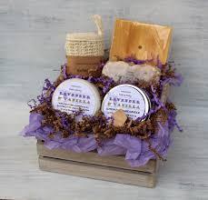 bathroom gift basket ideas lavender vanilla bath gift basket spa gift set with