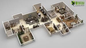 modern floor plan 3d floor plan modern design creator view yantram architectural