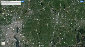 Google Maps Massachusetts by Taunton Massachusetts Map