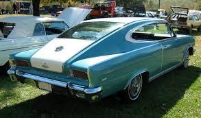 rambler car rambler marlin 5 4 v8 1965
