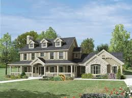 Farmhouse Plans Wrap Around Porch by Colonial House With Wrap Around Porch Image Gallery Hcpr