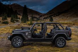 tan jeep wrangler 2018 jeep wrangler first look dissecting the anatomy of a 21st