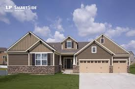 exterior design cozy exterior design with blue wooden siding by awesome exterior design with grey wooden siding by lp smartside panel plus cream garage doors and