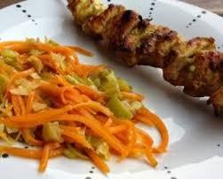 recette cuisine gourmande recette de brochettes de poulet mariné au colombo par ma