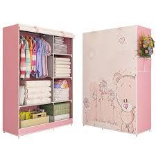 clothes wardrobe furniture storage cabinet wardrobe foldable
