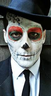 Halloween Skull Face Makeup by 128 Best Sugar Skull Make Up Images On Pinterest Sugar Skulls