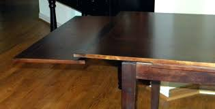 table with slide out leaves signed vintage mahogany dining table pull out leaves photo antique