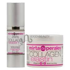mirta de perales collagen elastin eye cream 1oz face u0026 neck cream