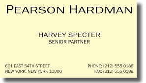 Ivory Business Cards Pearson Hardman Demo Document Library