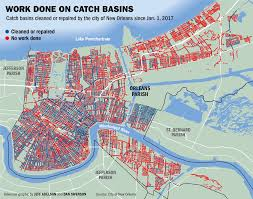 New Orleans City Map Is Your Catch Basin Clean Zero In On Your New Orleans