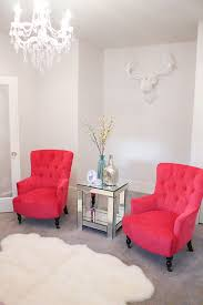 chairs for livingroom new fuchsia chairs in my living room a slice of style