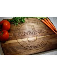 cutting board wedding gift savings on personalized cutting board wedding gift engagement