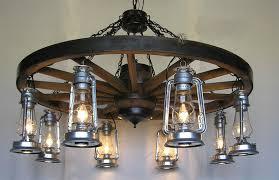 Wagon Wheel Lighting Fixtures Big Rock Lanterns Ltd And Electric Lantern And L