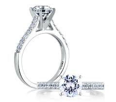 classic engagement ring cathedral classic engagement ring engagement rings