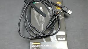 Rugged Lightning Cable Nomad Ultra Rugged Universal Cable Unboxing Demo Review