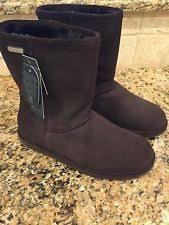 emu boots size 9 womens emu paterson hi boots womens size 9 chocolate brown waterproof