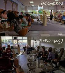 so is the nail salon that jimmy works lives in the same that saul