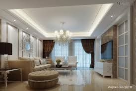 interior design using gypsum gallery including living room pop