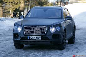 bentley bentayga 2015 2016 bentley bentayga spy shots testing at the arctic circle
