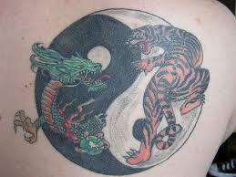 green and tiger yin yang