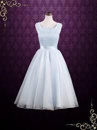formal wedding dresses retro tea length wedding gowns ieie bridal