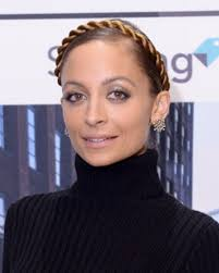 Nicole Richie Hair Extensions by Nicole Richie Takes The Milkmaid Crown Braid To A Whole New