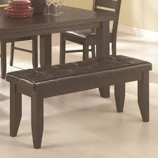 benches for dining room dining bench with tufted upholstered seat
