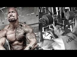 dwayne the rock johnson top best chest workout 2017 the rock