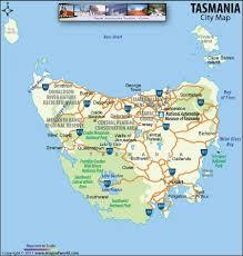 map of tasmania australia map tasmania
